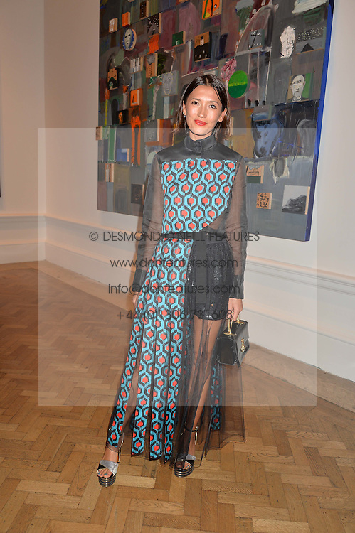 HIKARI YOKOYAMA at the Royal Academy of Arts Summer Exhibition Preview Party at The Royal Academy of Arts, Burlington House, Piccadilly, London on 7th June 2016.