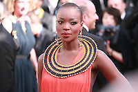 Miriam Odemba at the gala screening for the film Youth at the 68th Cannes Film Festival, Wednesday May 20th 2015, Cannes, France.