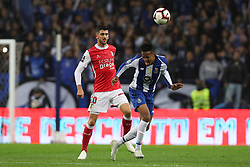 November 10, 2018 - Porto, Porto, Portugal - Porto's Brazilian defender Eder Militao (R) vies with Sporting Braga's Portuguese forward Paulinho (L) during the Premier League 2018/19 match between FC Porto and SC Braga, at Dragao Stadium in Porto on November 9, 2018. (Credit Image: © Dpi/NurPhoto via ZUMA Press)