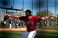 SCOTTSDALE, ARIZONA - FEBRUARY 20: Workouts. (Photo by Sarah Sachs/Arizona Diamondbacks)