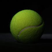 A studio shot of a Tennis Ball. 20th October 2012. Photo Tim Clayton