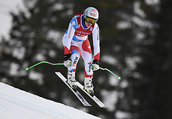 30.11.2017, Lake Louise, CAN, FIS Weltcup Ski Alpin, Lake Louise, Abfahrt, Damen, 3. Training, im Bild Denise Feierabend (SUI) // Denise Feierabend of Switzerland in action during the 3rd practice run of ladie's Downhill of FIS Ski Alpine World Cup at the Lake Louise, Canada on 2017/11/30. EXPA Pictures © 2017, PhotoCredit: EXPA/ SM<br /> <br /> *****ATTENTION - OUT of GER*****