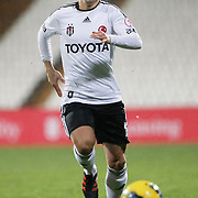 Besiktas's Necip Uysal during their Turkey Cup matchday 3 soccer match Besiktas between Gaziantepspor BSB at the Inonu stadium in Istanbul Turkey on Wednesday 11 January 2012. Photo by TURKPIX