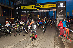 March 31, 2018 - Antwerp, BELGIUM - Illustration shows the 'We ride Flanders', a ride for amateurs on the track of tomorrow's 'Ronde van Vlaanderen - Tour des Flandres - Tour of Flanders' cycling race, Saturday 31 March 2018. BELGA PHOTO JAMES ARTHUR GEKIERE (Credit Image: © James Arthur Gekiere/Belga via ZUMA Press)