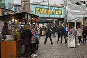 A busy Camden Market In Camden Town on the 27th March 2018 in North London, United Kingdom