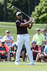 August 10, 2018 - Town And Country, Missouri, U.S - RICH BERBERIAN JR. from Hooksett New Hampshire, USA tees off on hole number three during round two of the 100th PGA Championship on Friday, August 10, 2018, held at Bellerive Country Club in Town and Country, MO (Photo credit Richard Ulreich / ZUMA Press) (Credit Image: © Richard Ulreich via ZUMA Wire)