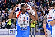 DESCRIZIONE : Beko Legabasket Serie A 2015- 2016 Dinamo Banco di Sardegna Sassari - Enel Brindisi<br /> GIOCATORE : Brenton Petway<br /> CATEGORIA : Ritratto Delusione Postgame<br /> SQUADRA : Dinamo Banco di Sardegna Sassari<br /> EVENTO : Beko Legabasket Serie A 2015-2016<br /> GARA : Dinamo Banco di Sardegna Sassari - Enel Brindisi<br /> DATA : 18/10/2015<br /> SPORT : Pallacanestro <br /> AUTORE : Agenzia Ciamillo-Castoria/L.Canu