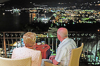 Night view from Hotel Bristol balcony, Sorrento, Italy, September, 2015, 201509041518<br /><br />Copyright Image from Victor Patterson, 54 Dorchester Park, Belfast, UK, BT9 6RJ<br /><br />t1: +44 28 9066 1296<br />t2: +44 28 9002 2446<br />m: +44 7802 353836<br />e: victorpatterson@me.com<br /><br />www.victorpatterson.com<br /><br />IMPORTANT: Please see my Terms and Conditions of Use at www.victorpatterson.com
