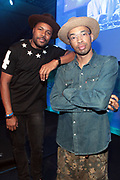 Bridgehampton, New York, NY-July 15:  (L-R) DJ's D-Nice and Rich Medina attend The 2017 RUSH Philanthropic's  Art For Life held at Fairview Farms on July 15, 2017 in Bridgehampton, New York. (Photo by Terrence Jennings/terrencejennings.com)