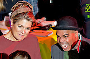 Queen Máxima opens Thursday, February 5th, 2015 working party Almere On Stage for secondary students