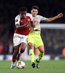 Alex Iwobi of Arsenal - Mandatory by-line: Patrick Khachfe/JMP - 14/09/2017 - FOOTBALL - Emirates Stadium - London, England - Arsenal v Cologne - UEFA Europa League Group stage