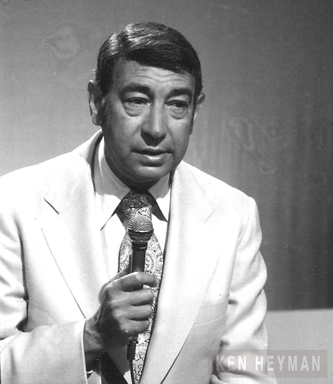 Announcer and TV personality, Howard Cossell