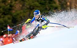 04.01.2013, Crveni Spust, Zagreb, AUT, FIS Ski Alpin Weltcup, Slalom, Damen, 1. Lauf, im Bild Mikaela Shiffrin (USA) // Mikaela Shiffrin of the USA in action // during 1st Run of the ladies Slalom of the FIS ski alpine world cup at Crveni Spust course in Zagreb, Croatia on 2013/01/04. EXPA Pictures © 2013, PhotoCredit: EXPA/ Pixsell/ Slavko Midzor..***** ATTENTION - for AUT, SLO, SUI, ITA, FRA only *****