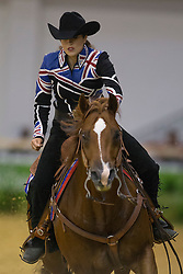 Jessica Sternberg, (GBR), Smart Like Valentino - Team Competition and 1st individual qualifying  - Alltech FEI World Equestrian Games™ 2014 - Normandy, France.<br /> © Hippo Foto Team - Dirk Caremans<br /> 25/06/14