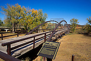 Fort Laramie Army Bridge (oldest bridge west of the Mississippi River), Fort Laramie National Historic Site, Wyoming