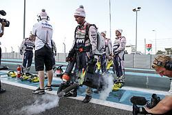 November 26, 2017 - Abu Dhabi, United Arab Emirates - Motorsports: FIA Formula One World Championship 2017, Grand Prix of Abu Dhabi, .mechanic of Sahara Force India F1 Team  (Credit Image: © Hoch Zwei via ZUMA Wire)