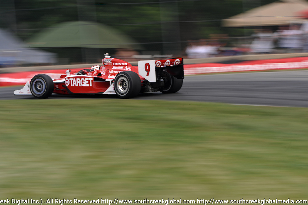 8 August, 2010; Target Chip Ganassi Racing's SCOTT DIXON during the Izod IndyCar Series Honda Indy 200 at the Mid-Ohio Sports Car Course in Lexington, Ohio..Mandatory Credit: Will Schneekloth / Southcreek Global