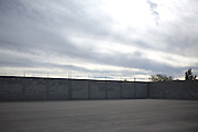 .A large parking lot at a El Burrito Chisostomo location sits under partially completed construction in Juarez Mexico on Saturday, Oct. 10, 2009....