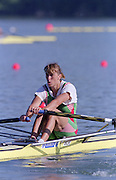 St Catherines, CANADA,  Momen's Single Sculls  BLR W1X Ekaterina KARSTEN,  competing at the 1999 World Rowing Championships - Martindale Pond, Ontario. 08.1999..[Mandatory Credit; Peter Spurrier/Intersport-images]       ...St Catherines, CANADA,  Momen's Single Sculls  BLR W1X Ekaterina KARSTEN,  competing at the 1999 World Rowing Championships - Martindale Pond, Ontario. 08.1999..[Mandatory Credit; Peter Spurrier/Intersport-images]       ... 1999 FISA. World Rowing Championships, St Catherines, CANADA