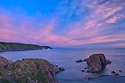 Clouds at dawn in La Scie Harbour (Atlantic Ocean). Baie Verte Peninsula.<br />La Scie<br />Newfoundland & Labrador<br />Canada