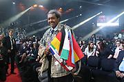 Boxen: Blitz & Donner, IBO Weltmeisterschaft, Halbschwergewicht,  Hamburg, 24.03.2018<br /> Karo Murat (GER) - Travis Reeves (USA), Promoter Don King<br /> © Torsten Helmke