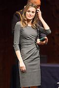 Letizia Ortiz, Princess of Asturias at 4th Teaching Awards to education stakeholders