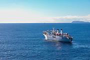 Cable ship, Molokai, Hawaii