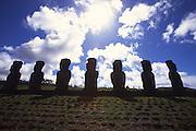 Ahu Akivi, Easter Island<br />
