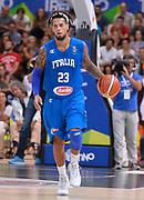 DESCRIZIONE : Trento Nazionale Italia Uomini Trentino Basket Cup Italia Germania Italy Germany <br /> GIOCATORE : Daniel Hackett<br /> CATEGORIA : palleggio<br /> SQUADRA : Italia Italy<br /> EVENTO : Trentino Basket Cup<br /> GARA : Italia Germania Italy Germany<br /> DATA : 01/08/2015<br /> SPORT : Pallacanestro<br /> AUTORE : Agenzia Ciamillo-Castoria/R.Morgano<br /> Galleria : FIP Nazionali 2015<br /> Fotonotizia : Trento Nazionale Italia Uomini Trentino Basket Cup Italia Germania Italy Germany