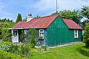 Corrugated iron cottage, near Taghmon, Southern Ireland
