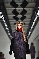 Models on the catwalk during the Antonio Berardi Autumn/Winter 2017 London Fashion Week show at the BFC venue at 180 Strand, London. Picture date: Monday February 20th, 2017. Photo credit should read: Matt Crossick/ EMPICS Entertainment.