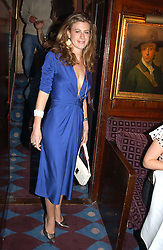 FRANCESCA VERSACE at a private dinner and presentation of Issa's Autumn-Winter 2005-2006 collection held at Annabel's, 44 Berkeley Square, London on 15th March 2005.<br /><br />NON EXCLUSIVE - WORLD RIGHTS