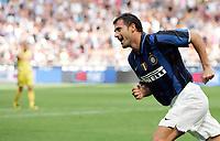 "Esultanza Dejan Stankovic (Inter) dopo il gol dell'1-0<br /> Dejan Stankovic (Inter) celebrates after scoring goal<br /> Italian ""Serie A"" 2007-08<br /> 26 Aug 2007 (Match Day 1)<br /> Inter-Udinese (1-1)<br /> ""Giuseppe Meazza""-Stadium-Milano-Italy<br /> Photo Luca Pagliaricci INSIDE"
