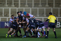 Rugby Union - 2020 / 2021 ERRC Challenge Cup - Newcastle Falcons vs Cardiff Blues - Kingston Park<br /> <br /> A Newcastle Falcons maul during the game<br /> <br /> COLORSPORT/BRUCE WHITE