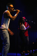 Bilal at the Bilal performance at Highline Ballroom produced by Jill Newman Productions on August 15, 2008 in New York City.