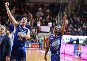 DESCRIZIONE : Varese Lega A 2013-14 Cimberio Varese Acqua Vitasnella Cantu<br /> GIOCATORE : Joe Ragland Marco Cusin<br /> CATEGORIA : esultanza<br /> SQUADRA : Acqua Vitasnella Cantu<br /> EVENTO : Campionato Lega A 2013-2014<br /> GARA : Cimberio Varese Acqua Vitasnella Cantu<br /> DATA : 15/12/2013<br /> SPORT : Pallacanestro <br /> AUTORE : Agenzia Ciamillo-Castoria/R.Morgano<br /> Galleria : Lega Basket A 2013-2014  <br /> Fotonotizia : Varese Lega A 2013-14 Cimberio Varese Acqua Vitasnella Cantu<br /> Predefinita :