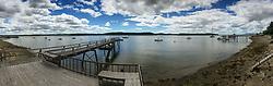 Castine Harbor from Doc's Dock, Castine, Maine, US