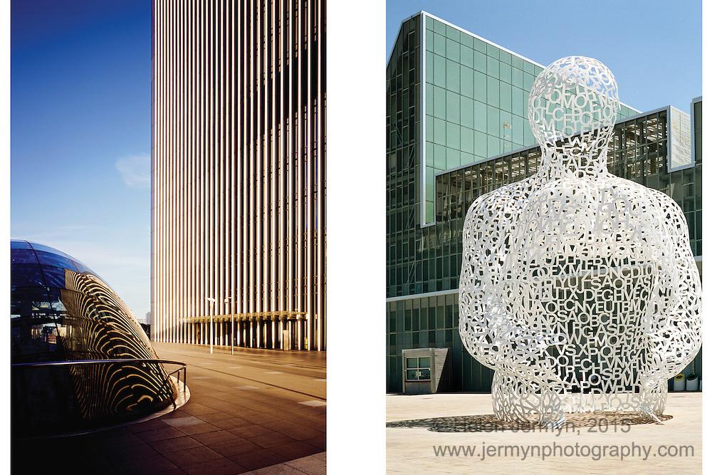 Canary Wharf, London, & Alma del Ebro, Zaragoza Expo