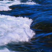 """Niagara River Meets Falls""<br /> <br /> Beautiful flowing waters of the Niagara River meets the edge of Niagara Falls!"