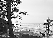 0613-1G36. Cannon Beach, Haystack Rock September 1, 1919