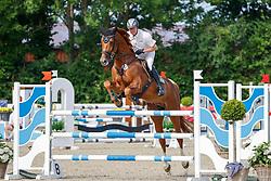 08, Youngster-Springprfg. Kl. M* 6-8j. Pferde,, Ehlersdorf, Reitanlage Jörg Naeve, 15. - 18.07.2021, Thomas Voss (GER), Mister Zinedine,