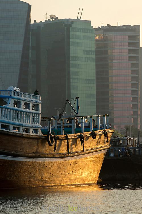 Dubai Creek, Deira area, United Arab Emirates
