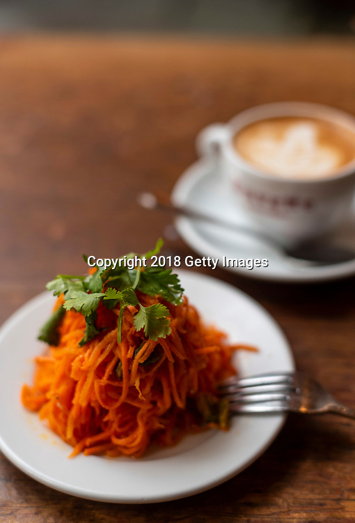 NEW YORK- JUNE 3:  Carottes Rapees photographed at Chef Jody Williams' Buvette on June 3rd, 2019 in New York City. (Photo by Kris Connor/Getty Images for OK! Magazine)