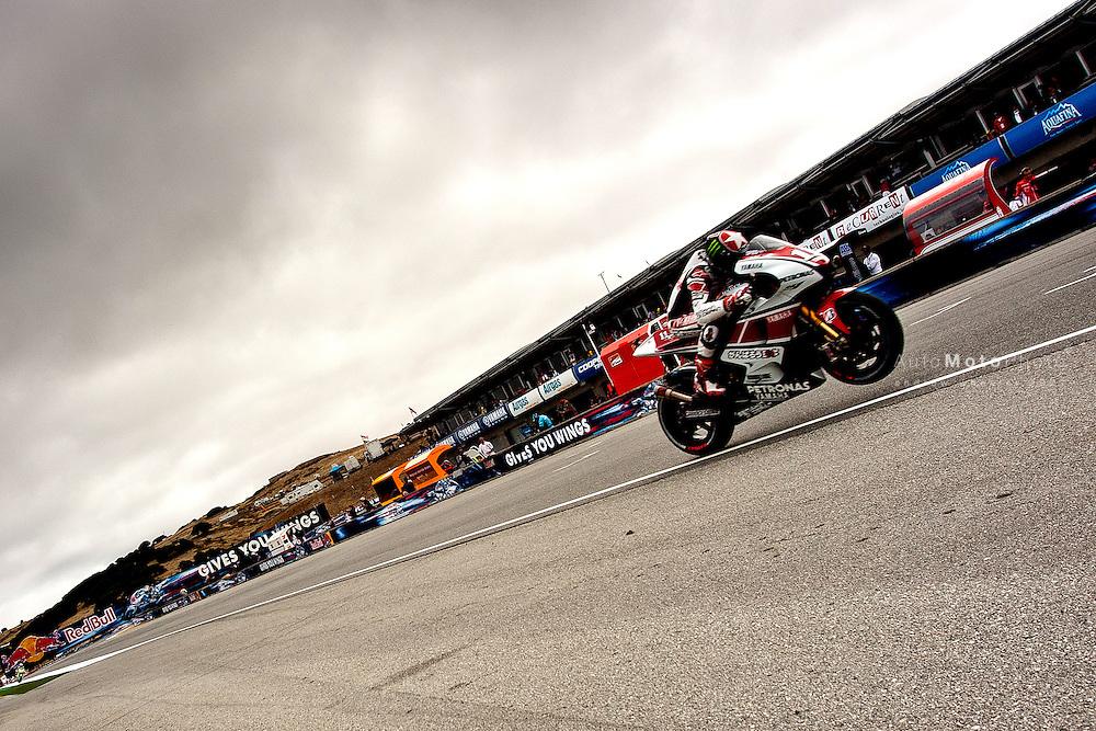 2011 MotoGP World Championship, Round 10, Laguna Seca, Monterey, USA, 24 July 2011, Ben Spies