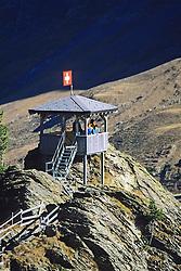 Observation Tower At Kleine Scheidegg