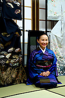 "Kimono Designer - The kimono is the traditional clothing of Japan. Originally the word ""kimono""  meant ""thing to wear"" but now has come to denote a particular type of traditional full-length Japanese garment."
