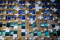 The building known as 'The Cube' in Birmingham city centre<br /> <br /> (c) Andrew Wilson | Edinburgh Elite media