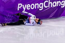 22-02-2018 KOR: Olympic Games day 13, PyeongChang<br /> Short Track Speedskating / Yira Seo of Korea