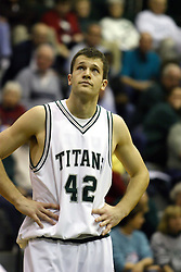 16 December 2006: Tyler Smith. The University of Chicago Maroons upset  the Illinois Wesleyan Titans 64 - 60 at the Shirk Center in Bloomington Illinois.<br />