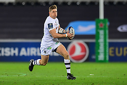Clermont Auvergne's David Strettle in action  - Mandatory by-line: Craig Thomas/JMP - 15/10/2017 - RUGBY - Liberty Stadium - Swansea, Wales - Ospreys Rugby v Clermont Auvergne - European Rugby Champions Cup